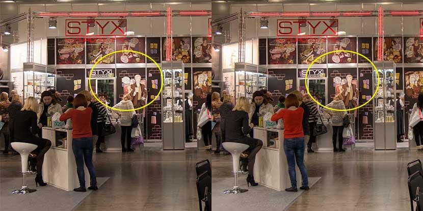 Сравнение обычного снимка и HDR-изображения