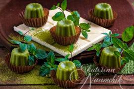 Мятный шоколад с зелёным чаем матча (маття)