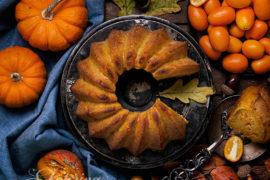 рецепт кекса из тыквы с кумкватом
