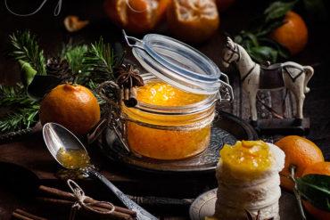 мандариновый джем рецепт