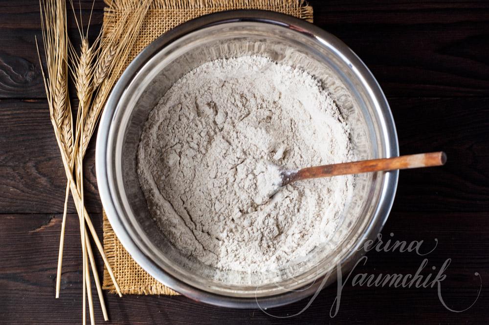 Рецепт печенья из ржаной муки