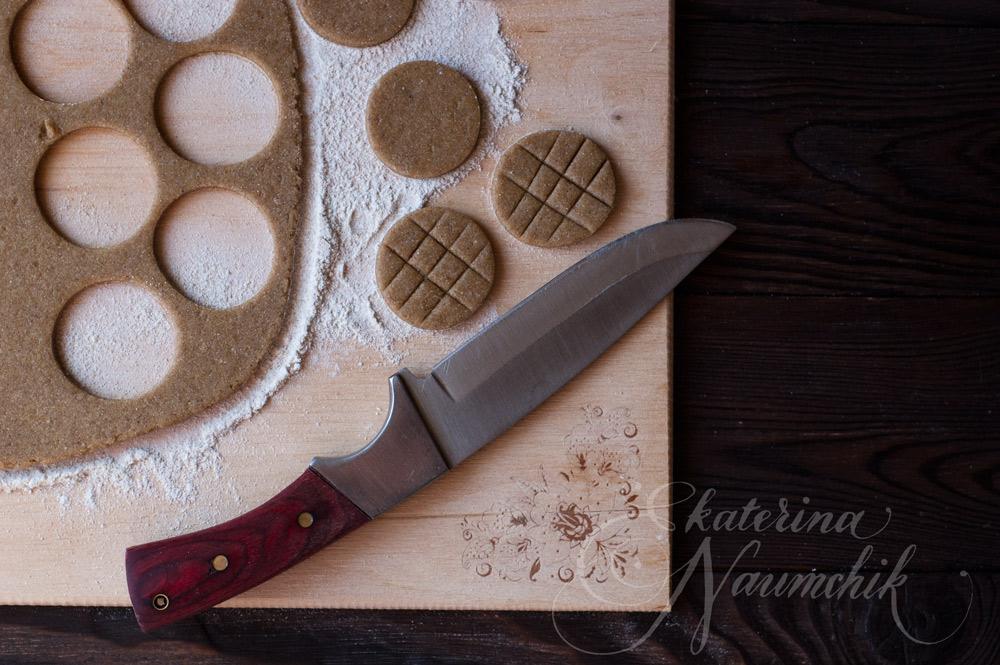 Рецепт ржаного малокалорийного печенья