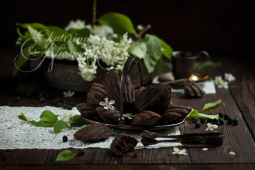Печенье из черемуховой муки