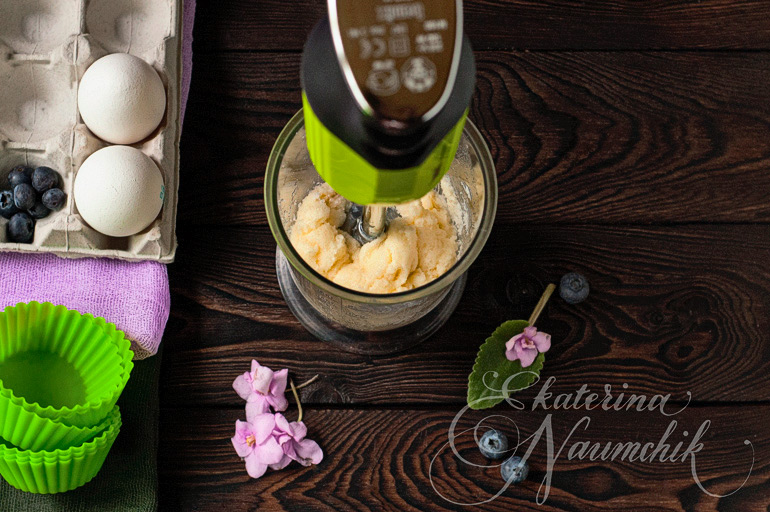 миндальные капкейки пошаговый рецепт