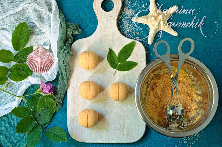 шипучие шарики для ванны с маслом шиповника