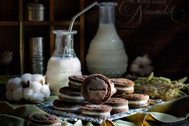 """приготовить печенье """"Орео"""""""