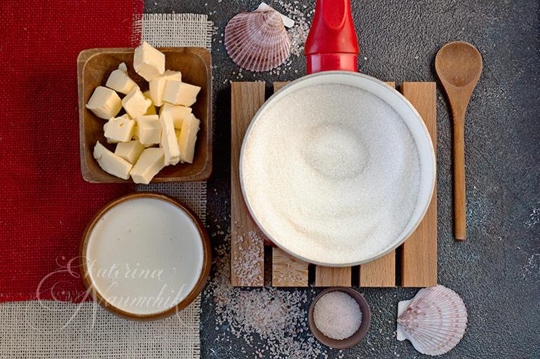 как приготовить соленую карамель