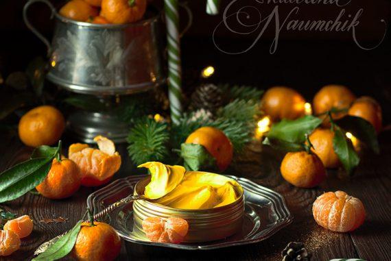 Взбитое масло ши «Золотой мандарин»