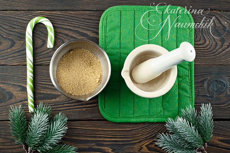приготовление сахарной пудры из тростникового сахара
