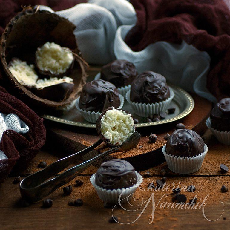конфеты баунти своими руками