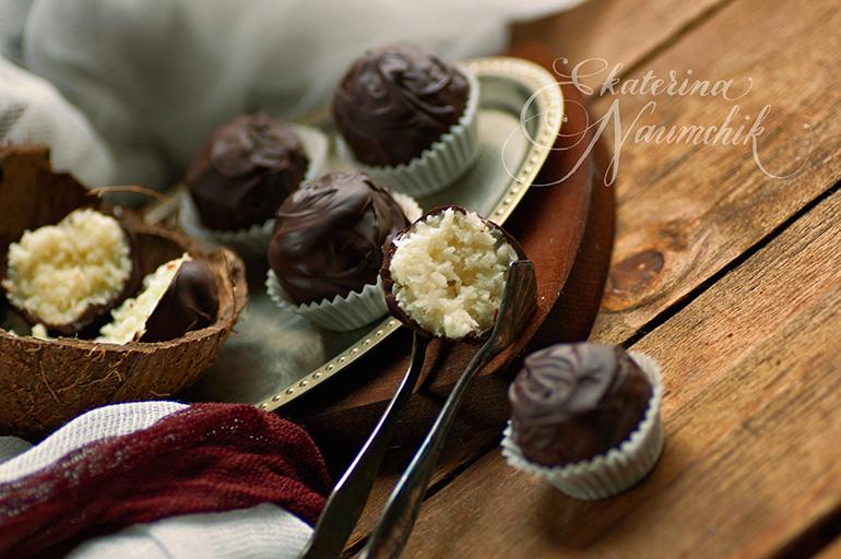 готовые конфеты баунти в домашних условиях