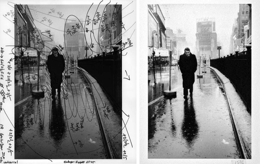 обработки по маске в аналоговой фотографии