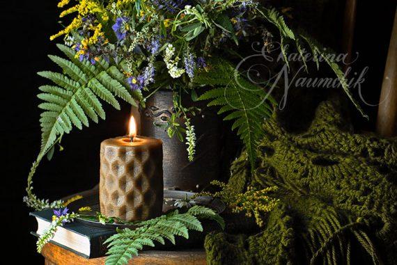свеча цитронелла от комаров